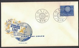 IC37    Norway 1960 FDC EUROPA - MiNr.449 - FDC