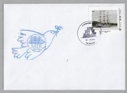 ARMADA ROUEN 2019 - MIR ( Russie ) Sur Enveloppe Du 14 Juin 2019-Timbre Concordant. - Marcophilie (Lettres)