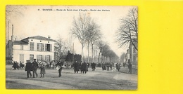 SAINTES Sortie Des Ateliers Route De St Jean D'Y (Prévost) Charente Maritime (17) - Saintes