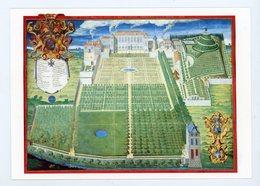 CPM:  JARDIN DU ROY POUR CULTURE DES PLANTES MEDICINALES 1636 D'APRÈS GRAVURE DE FREDERIC SCALBERGE - - Non Classés