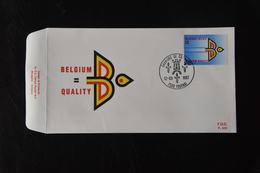 D3 ++ BELGIË BELGIQUE BELGIUM FDC BLANCO BLANK - FDC