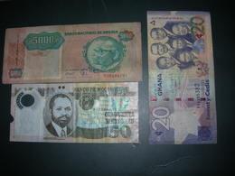 Ghana Mocambique Angola - Banknotes