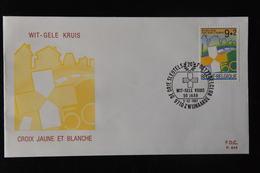 D3 ++ BELGIË BELGIQUE BELGIUM FDC BLANCO BLANK SUSKE EN WISKE - FDC