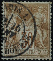 -Sage N°80  Type Ll.(CAD) O.PARIS PL DE LA BOURSE. - 1876-1898 Sage (Type II)