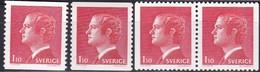 Schweden, 1975,  Mi. Nr.: 902,  MNH **, Freimarken: König Carl XVI. Gustav. - Suède