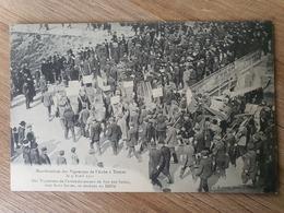 CPA Dpt 10 Manifestation Des Vignerons De L'aube A Troyes Le 9 Avril 1911  (livraison Gratuit France) - Troyes