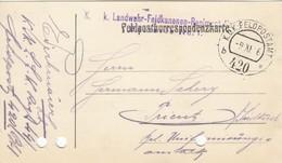 9747-FRANCHIGIA - AUSTRIA - K.U.K. FELDPOSTAMT 420 - 9-11-1916 - Lettres & Documents