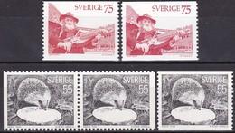 Schweden, 1975,  Mi. Nr.: 923/24,  MNH **, Natur Und Kunst. - Sweden