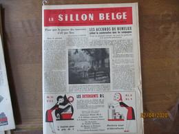 LE SILLON BELGE DU 14 MAI 1955 AU CONCOURS DE VILVORDE,POUR QUE LA GUERRE DES TAUREAUX N'EST PAS LIEU,ESSAI SUR LE CARAC - Animals