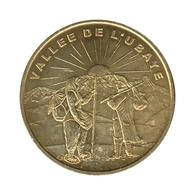 04002 - MEDAILLE TOURISTIQUE MONNAIE DE PARIS 04 - Vallée De L'Ubaye - 2001 - Monnaie De Paris