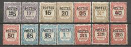 MONACO ANNEE 1937 N°140 à 153 NEUFS** MNH - Monaco