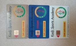 LOT 3 CARTES A PUCE PORTE MONNAIE PAIEMENT KADJI SPORTS !!! - Cameroun