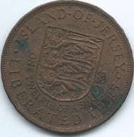 Jersey - 1945 - George VI - 1/12 Shilling - Liberation Of Jersey - KM19 - Jersey