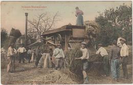 CPA   76 ROUEN SES ENVIRONS 28 FEVRIER 1916    BATTAGE DES GRAINS - Rouen