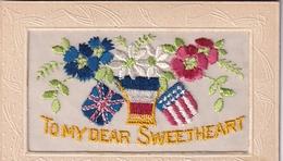 Carte Brodée To My Dear Sweetheart - Bestickt