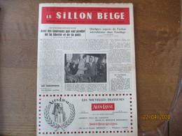 LE SILLON BELGE DU 17 SEPTEMBRE 1955 AVEC LES TAUREAUX QUI ONT PROFITE DE LA LIBERTE ET DE LA PAIX,St MICHEL LA CIGARETT - Animals