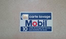 ANCIENNE CARTE A PUCE LAVAGE PUCE SO2 MOBIL VERSO NEUBAUER SAINT DENIS ASSEZ RARE B.E !!! - France