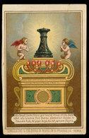 SIMULACRO S.COLONNA DI N.S.G.C. IN S. PRASSEDE - ROMA  '800 - Devotion Images