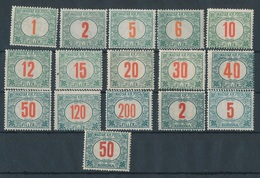 1915. Red Number Green Porto - Port Dû (Taxe)