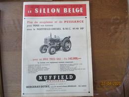 LE SILLON BELGE DU 24 SEPTEMBRE 1955 AVEC LES TAUREAUX QUI ONT PROFITE DE LA LIBERTE ET DE LA PAIX,LE CHEVAL DE TRAIT BE - Animals