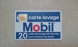 ANCIENNE CARTE A PUCE LAVAGE PUCE SO2 MOBIL VERSO MALAKOFF ET MEUDON ASSEZ RARE B.E !!! - France