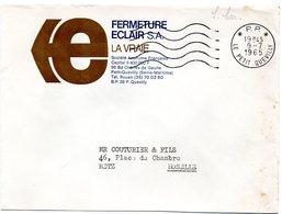 SEINE MARITIME - Dépt N° 76 = LE PETIT QUEVILLY 1965 = FLAMME PP / Port Payé = SECAP Muette '5 Lignes Ondulées' - Marcophilie (Lettres)