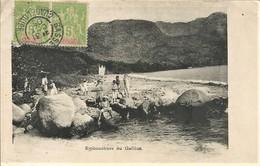 GUADELOUPE EMBOUCHURE DU GALLION 1905 Très Belle Carte Très Animée - Basse Terre