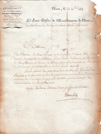 1811 THIERS - Mode De Distribution Des Imprimés De PASSEPORT Pour L'INTÉRIEUR - - Historische Dokumente