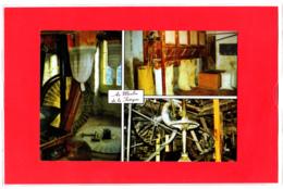 Carte(Dos Imprimé) Moulin De La Fatigue, Vitré, Farine De Blé Noir, Meunier, Minoterie, Meunerie - Craft