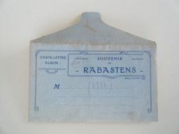 RABASTENS - Carte Album - 1914 - Rabastens