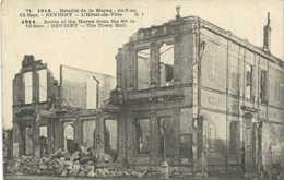 1914 Bataille De La Marne Du 6 Au 12 Sept REVIGNY  L'Hotel De Ville RV - Revigny Sur Ornain