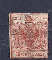 200034201  AUSTRIA  YVERT   Nº  3 - 1850-1918 Imperio