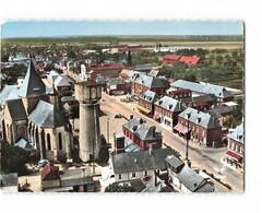 77 St Saint Nicolas D' Aliermont En Avion Au Dessus De Vue Générale CPSM GF - Autres Communes
