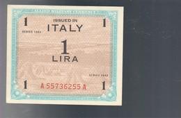 1 Am Lire 1943 Italiano Flc Q.fds/fds  LOTTO 1319 - Geallieerde Bezetting Tweede Wereldoorlog