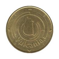 63058 - MEDAILLE TOURISTIQUE MONNAIE DE PARIS 63 - Vulcania Logo - 2002 - RARE - Monnaie De Paris