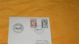 ENVELOPPE DE 1962../ CACHETS MUSEE POSTAL 4 RUE SAINT ROMAIN PARIS + TIMBRES X2 CROIX ROUGE FRAGONARD - Marcophilie (Lettres)
