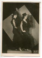 PHOTOGRAPHIE 0213  Danseuses Espagnoles Photographe U.DORES Egypte Alexandrie Dim 17 Cm X 23,5 Cm - Antiche (ante 1900)