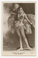 """CPA.Waléry Paris.Joséphine Baker """" Folies Bergère """" Cabaret,chanteuse,danseuse Nue.    .E.90 - Artistes"""