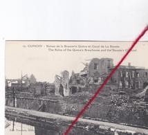 CP 62  -  CUINCHY  -  Ruines De La Brasserie QUEVA Et Canal De La Bassée - France