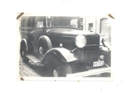 Photo ( 6 X 9 Cm ) D'une Ancienne Camionette, Automobile, Oldtimer - Peugeot 201 ( ? Sous Réserve )  - +/- 1930 (SID) - Automobiles
