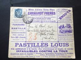Enveloppe / Entier Postal Publicité De 1891 - Advertising