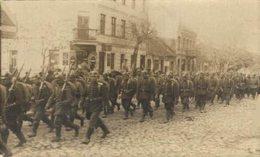 RPPC CARTE PHOTO  DEUTSCHE TRUPPEN   1914/15 WWI WWICOLLECTION - Guerre 1914-18