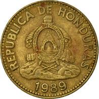 Monnaie, Honduras, 10 Centavos, 1989, TTB, Laiton, KM:76.1a - Honduras