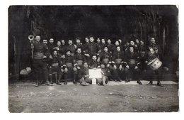 CPA 2893 - MILITARIA - Carte Photo Militaire - Un Groupe De Chasseurs Alpins N° 158 Sur Les Cols à MODANE - Personaggi