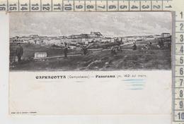 CAPRACOTTA CAMPOBASSO PANORAMA 1909 - Campobasso