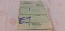 BIGLIETTO TRENO AGENZIA VIAGGI C.I.T. DA SALSOMAGGIORE TERME A BOLOGNA 1982 - Europe