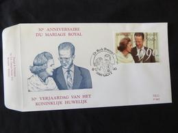 """BELG.1990 2396 FDC ( Gent ): """" KON.HUWELIJK / MARIAGE ROYAL """" - FDC"""