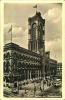 1936, Berlin, Rathaus Mit Olympiaschmuck, Ansichtskarte Gelaufen Mit Werbestempel - Summer 1936: Berlin