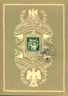 """1940, Sonderblatt """"Tag Der Briefmarke"""" Mit SSt WIEN 1 - Allemagne"""