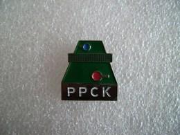 Pin's PPCK Club De Ping-pong Le Relecq-Kerhuon - Finistère - Tennis De Table